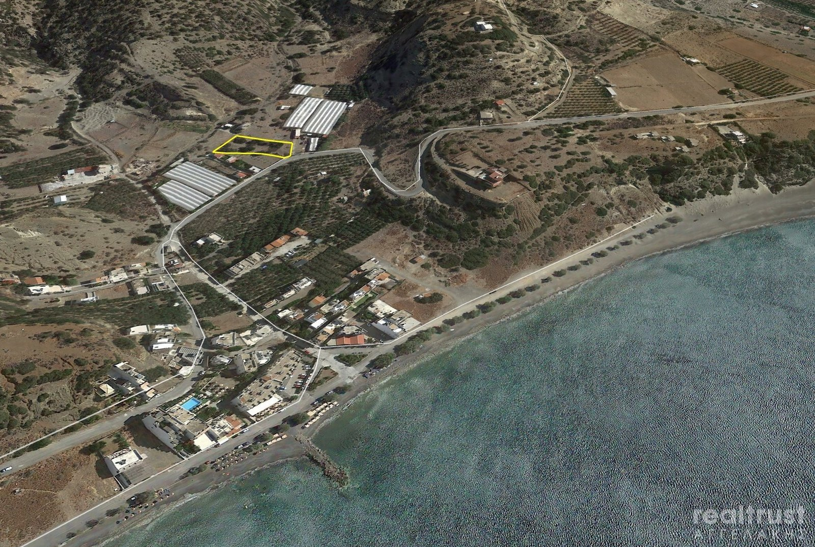 PLOT WITHIN THE CITY PLAN for Sale - CRETE